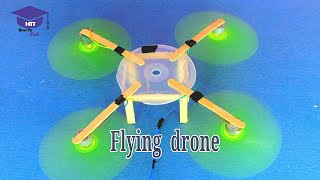 How to make a flying drone at home | you can make it very easily