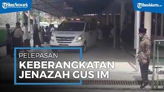 Istri Gus Dur dan Ketum PBNU Lepas Keberangkatan Jenazah KH Hasyim Wahid