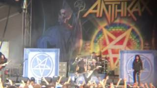 "ANTHRAX ""CAUGHT IN A MOSH"" Aftershock 2016"
