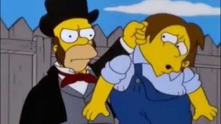 Tom Saywer Y Huckleberry Finn (Parte 1/2) Los Simpson