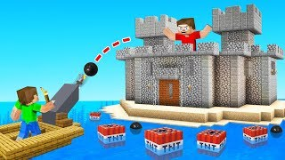 BUILDING A *MEGA* FORTRESS In JELLY'S MINECRAFT WORLD (Secret)