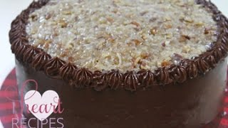 recipe homemade german chocolate cake