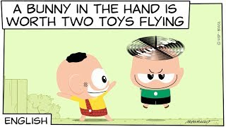 Monica Toy   A bunny in the hand is worth two Toys flying (S06E25)