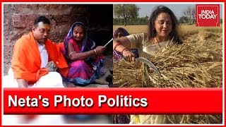 Photo Politics During Election Season Sambit Patra  Hema Malini Trolled On Twitter