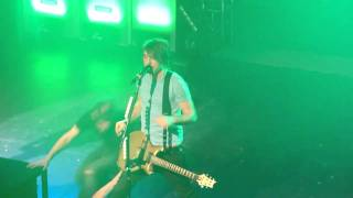 All Time Low - Live - (Intro) Keep The Change, You Filthy Animal - Olympia, Dublin 1/03/11
