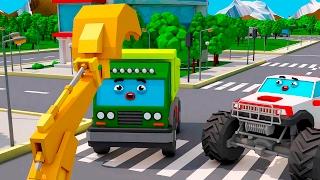 Pequeño Camión y amigos carros - Carritos para niños - Camiones infantiles