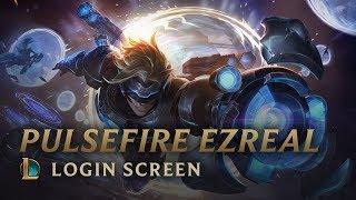 Pulsefire Ezreal | Login Screen Update - League of Legends