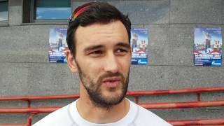 Видеоинтервью с Олимпийским чемпионом Александром Дьяченко (гребля байдарка)