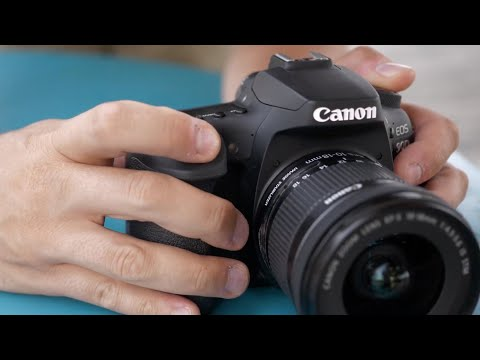 External Review Video NSMegftaVCc for Canon EOS 90D APS-C DSLR Camera