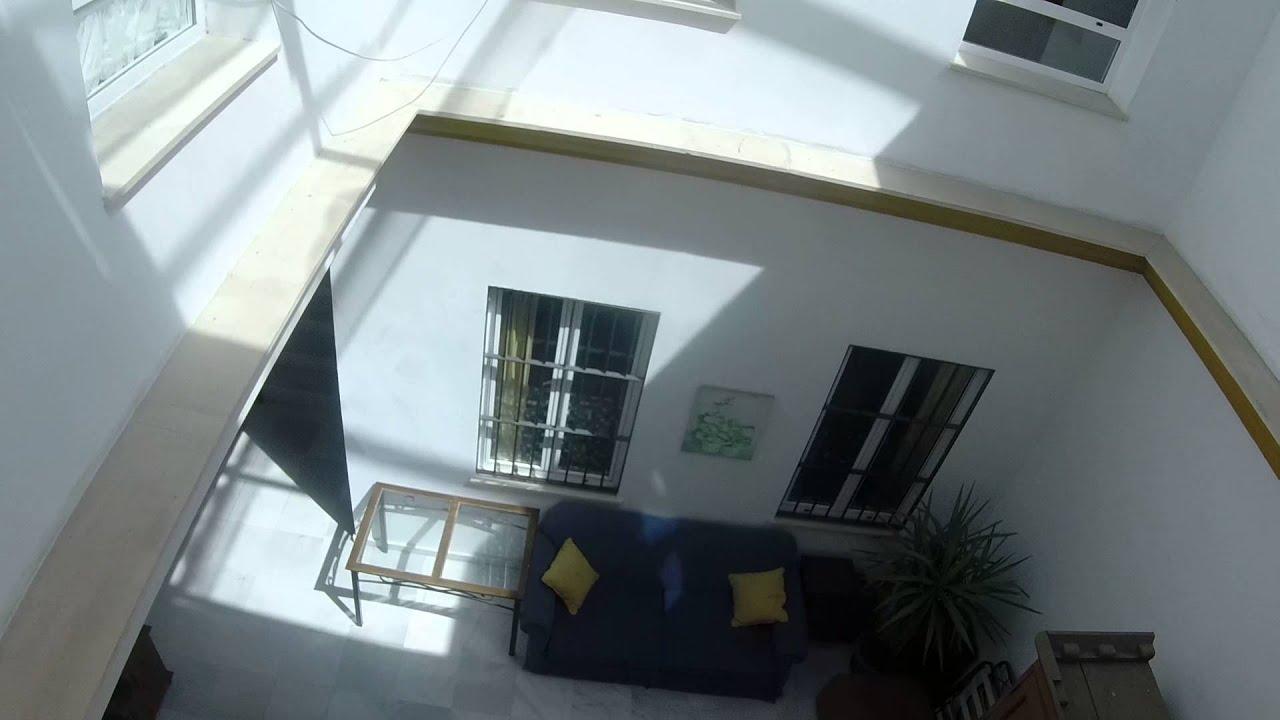 Soleado piso de 1 habitación con terraza y aire acondicionado en San Vincente