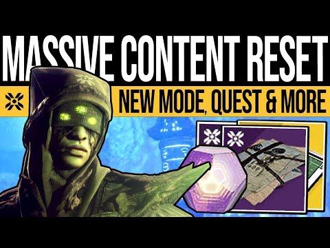 Destiny 2 | HUGE DLC RESET! New CONTENT! Eris Quest, Hero Nightmares, Weekly Vendors & Loot, 8th Oct