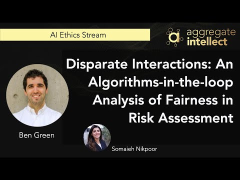 Disparate Interactions: An Algorithms-in-the-loop Analysis of Fairness in Risk Assessment