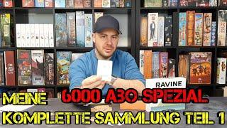 Meine komplette Sammlung - Teil 1 - 6000 Abo-Spezial - Brettspiele - Boardgame Digger