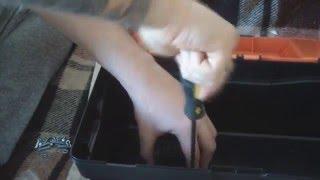 Как сделать ящик для эхолота лоуренс