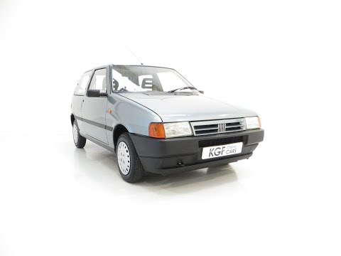 An Italian Super Chic Fiat Uno 45 Fire With One Former Keeper And 21,981 Miles - £3495