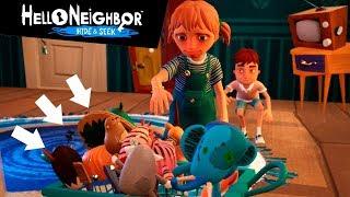КАК СОБРАТЬ ВСЕ ИГРУШКИ! Нашли все игрушки! Привет сосед 2! Hello Neighbor Hide And Seek