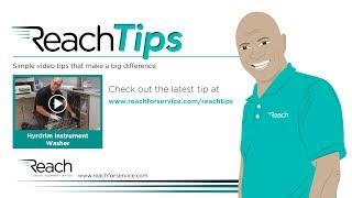Reach Tips - Hydrim Instrument Washer Maintenance