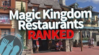 BEST TO WORST: Magic Kingdom Restaurants RANKED!