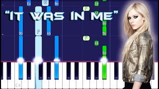 Avril Lavigne - It Was In Me Piano Tutorial EASY (Piano Cover)