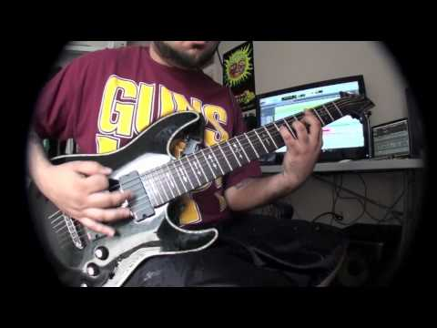 "Ceruleus - ""Trenches"" (NTB Guitar Play Through)"
