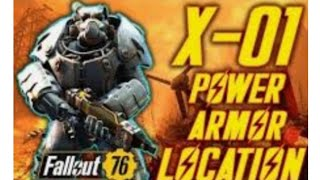 How to get the X-01 Armor and JetPack in Fallout 76