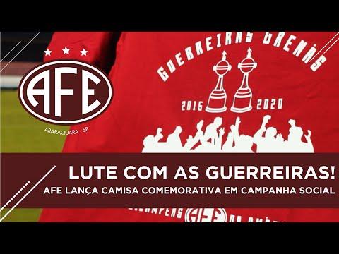 Vídeo / Guerreiras Grenás lançam camisa comemorativa ao Bi da Libertadores e renda será revertida a solidadariedade!