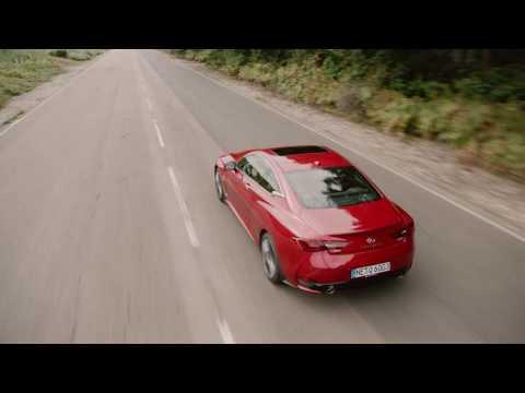 Infiniti  Q60 Купе класса A - рекламное видео 5