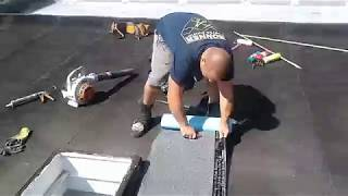 How to Replace a Flat Roof Skylight