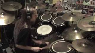 """Highland Tyrant Attack"" by Absu Drum Cover (2010)"