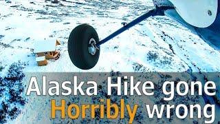Alaska Hike gone HORRIBLY wrong - Alaska State Troopers Notified!