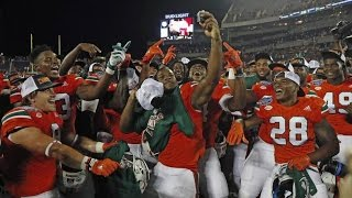 Miami Hurricanes Highlights in Russell Athletic Bowl vs West Virginia
