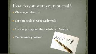 Essay Writing for University: Starting a Journal
