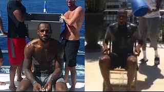 ALS Ice Bucket Challenge - NBA Players (LBJ, KD, Kobe, Melo,..)