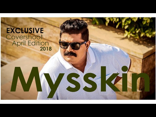 Kollywood S Lone Wolf Cover Shoot With Director Mysskin Provoke Tv