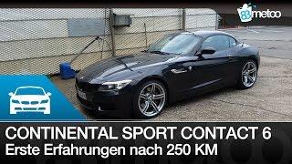 Continental SportContact 6 Erfahrungen nach 250 KM | Felgenreinigung Swissvax Autobahn Felgenwachs