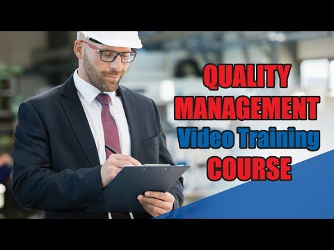 Quality Management Training   Video Training Course | John Academy