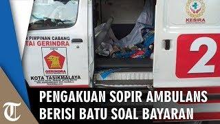 Jadi Tersangka, Ini Pengakuan Sopir Ambulans soal Bayaran dari DPC Partai Gerindra Tasikmalaya