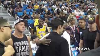 Video Of Floyd Mayweather Being Introduce To Ryan Garcia EsNews Boxing
