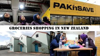 NZ Vlog #3 : Groceries Shopping @ PaknSave, masak, makan, main, tidoq | Day 1