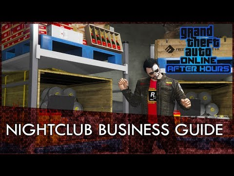 GTA Online After Hours DLC: Nightclub Business Guide