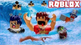 Roblox - Strengthlee Ngu Người Bị Nước Lũ Dìm Chết | Flood Escape