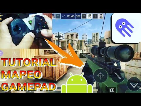 TUTORIAL: Como jugar STANDOFF 2 con GAMEPAD (octopus app