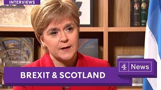March 2017 - Nicola Sturgeon on Brexit and the future of Scotland.
