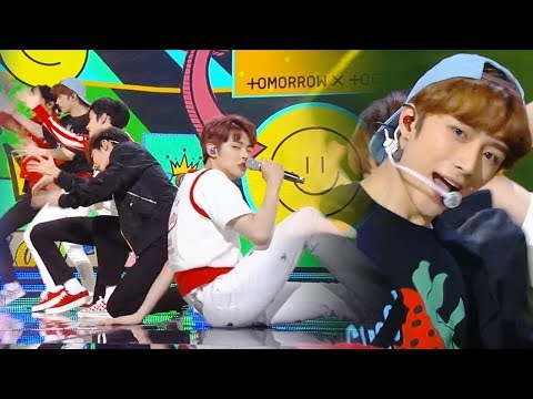 Tomorrow X Together - CrownㅣTXT - 어느 날 머리에서 뿔이 자랐다 [Music Bank Ep 972]