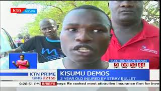 Police shoot dead a young boy and injure a two year old girl in Kisumu