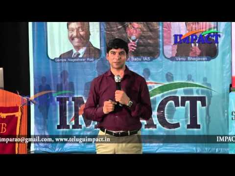 Leadership | Venu Bhagawan | TELUGU IMPACT HYD SEPT 2015