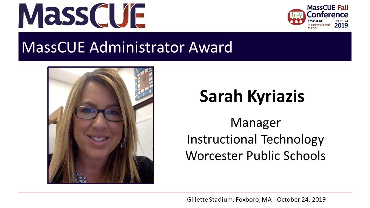 2019 Administrator Award