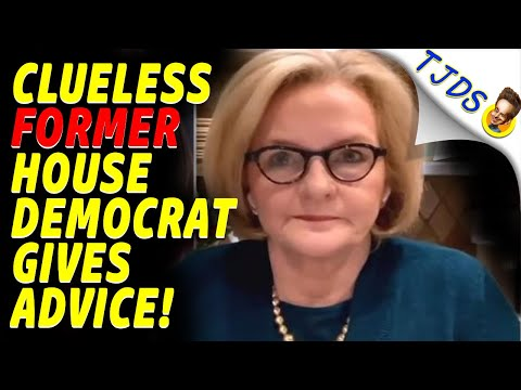 CLUELESS Democrat Gives Advice After Losing House Seats!