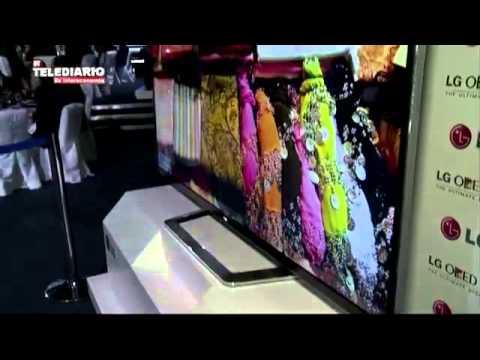 OLED TV. LG presenta la televisión más delgada del mundo