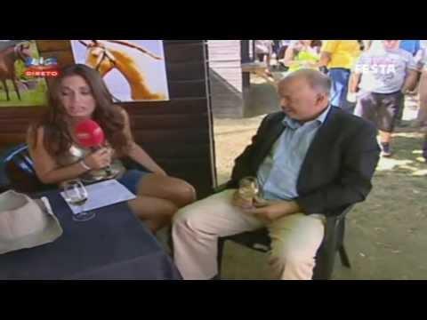 Reportagem da SIC do programa 'Portugal em Festa' na VII Feira do Cavalo de Ponte de Lima, que de...